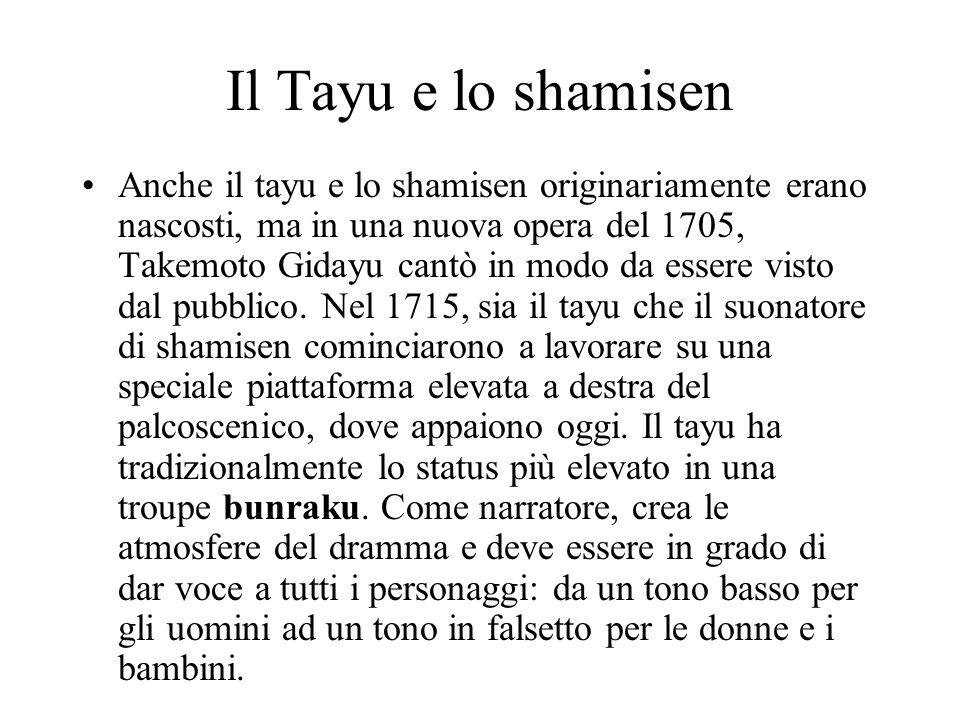 Il Tayu e lo shamisen