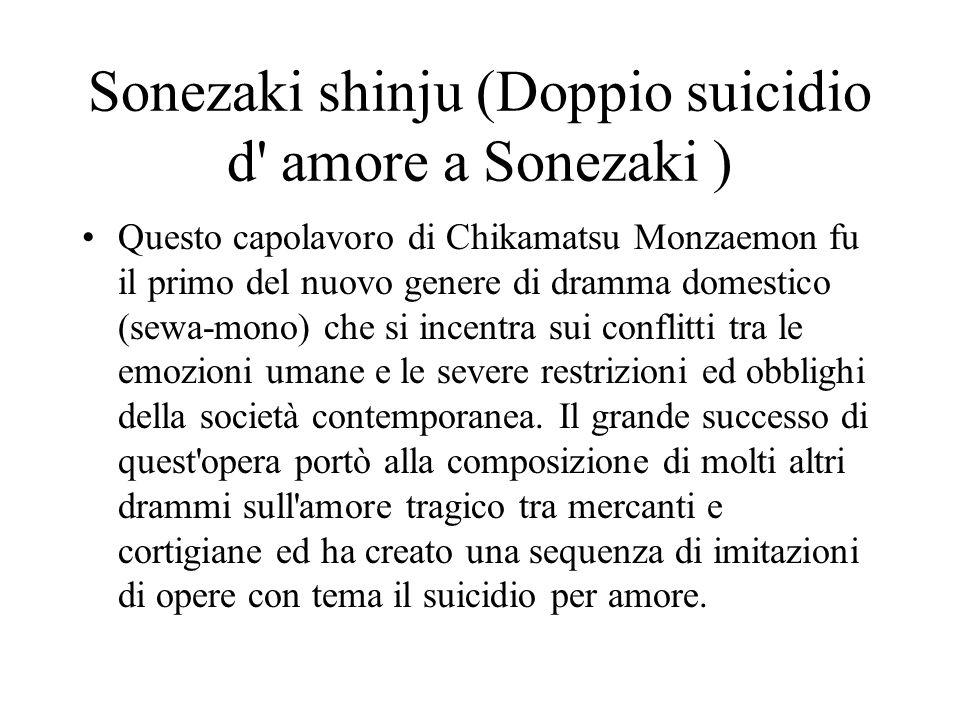 Sonezaki shinju (Doppio suicidio d amore a Sonezaki )