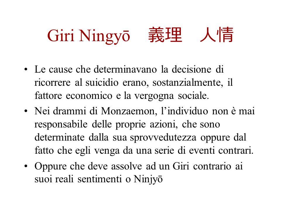 Giri Ningyō 義理 人情