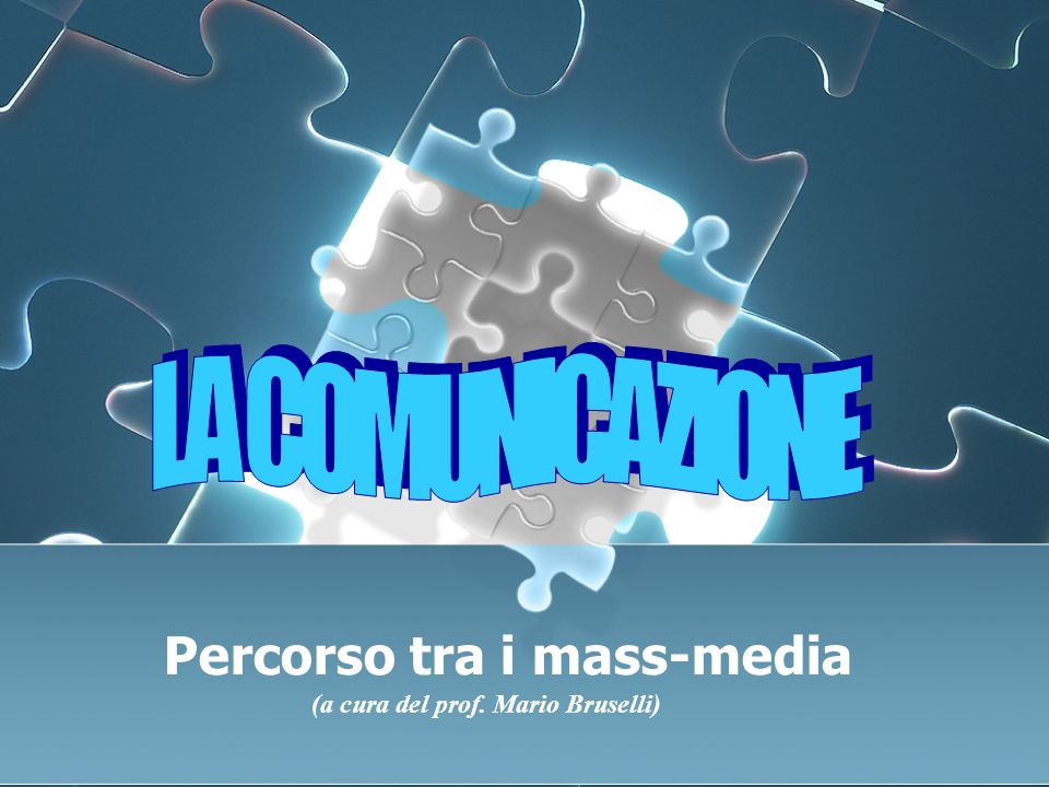 Percorso tra i mass-media