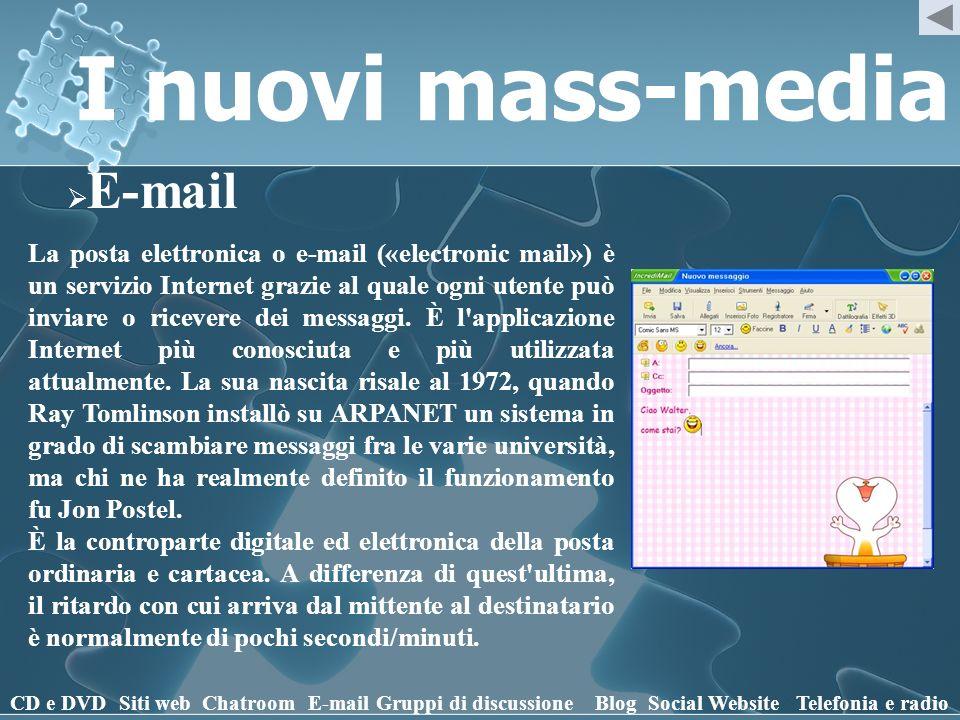I nuovi mass-media E-mail