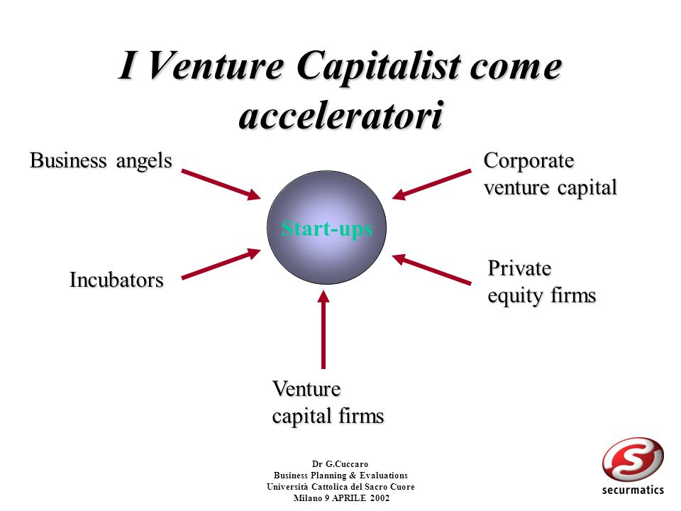 I Venture Capitalist come acceleratori