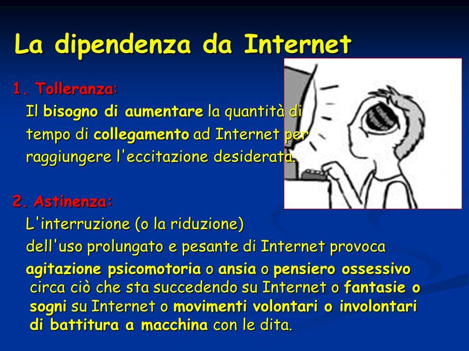La dipendenza da Internet