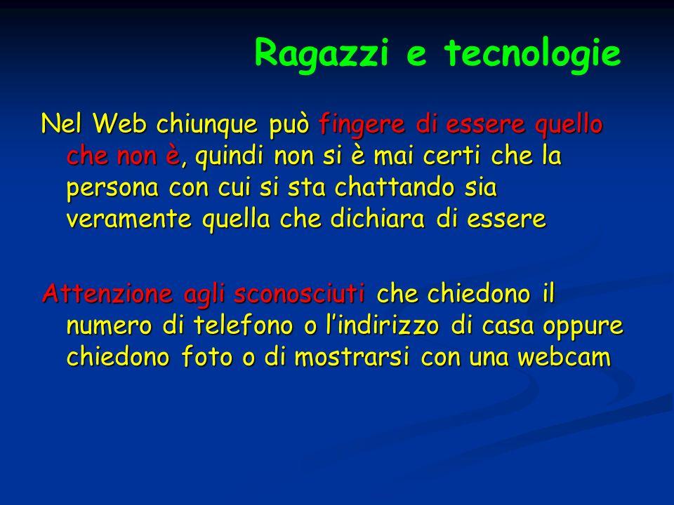 Ragazzi e tecnologie