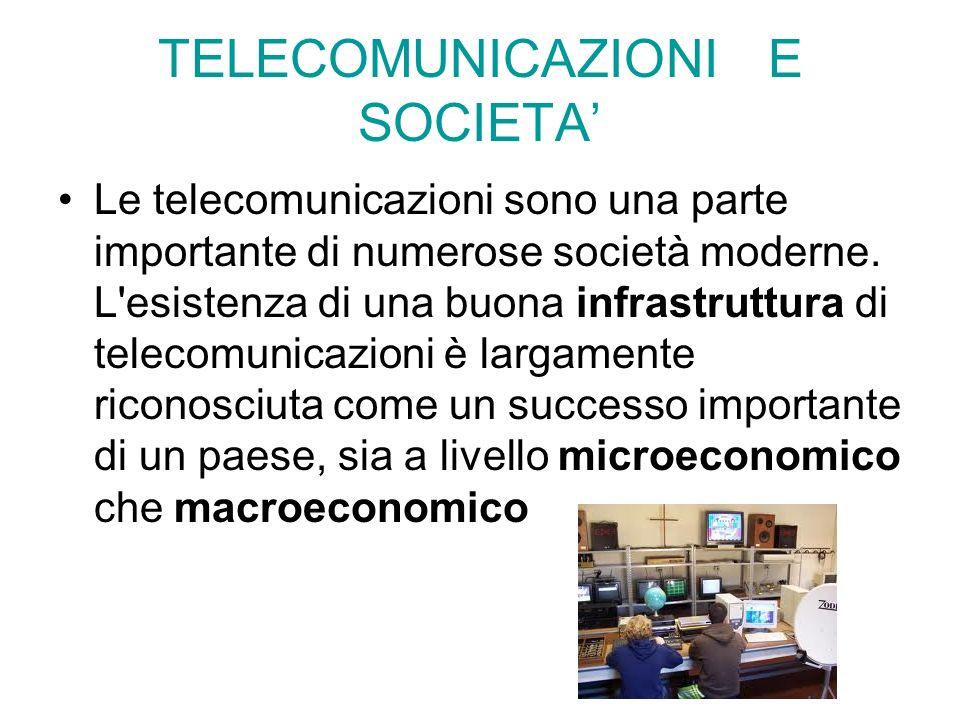 TELECOMUNICAZIONI E SOCIETA'
