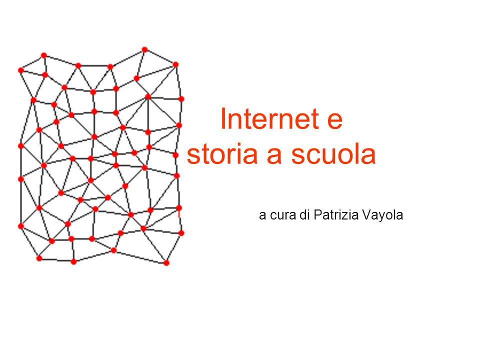 Internet e storia a scuola