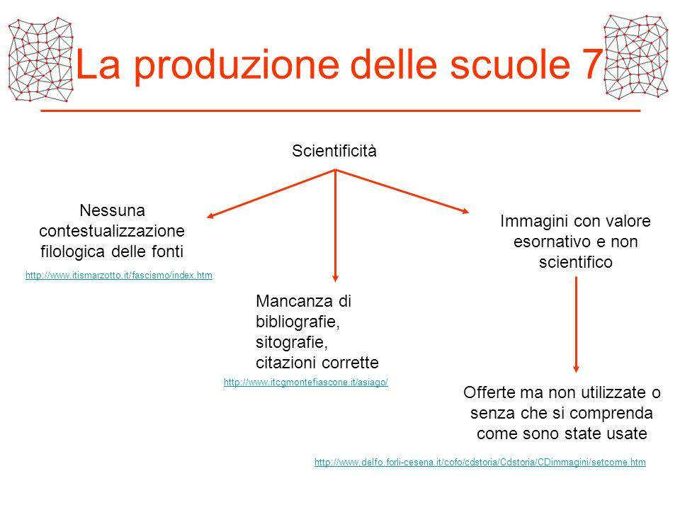 La produzione delle scuole 7