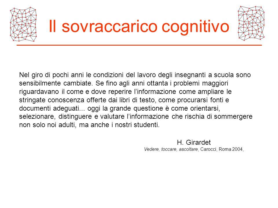 Il sovraccarico cognitivo