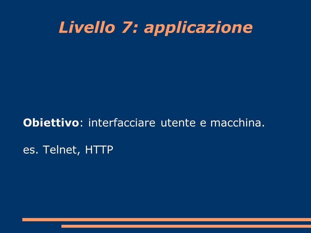 Livello 7: applicazione