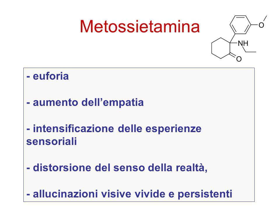 Metossietamina - euforia - aumento dell'empatia