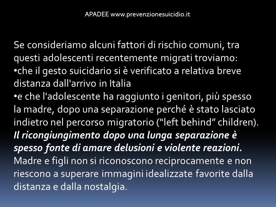 APADEE www.prevenzionesuicidio.it