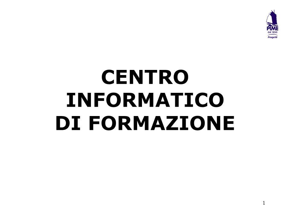 CENTRO INFORMATICO DI FORMAZIONE