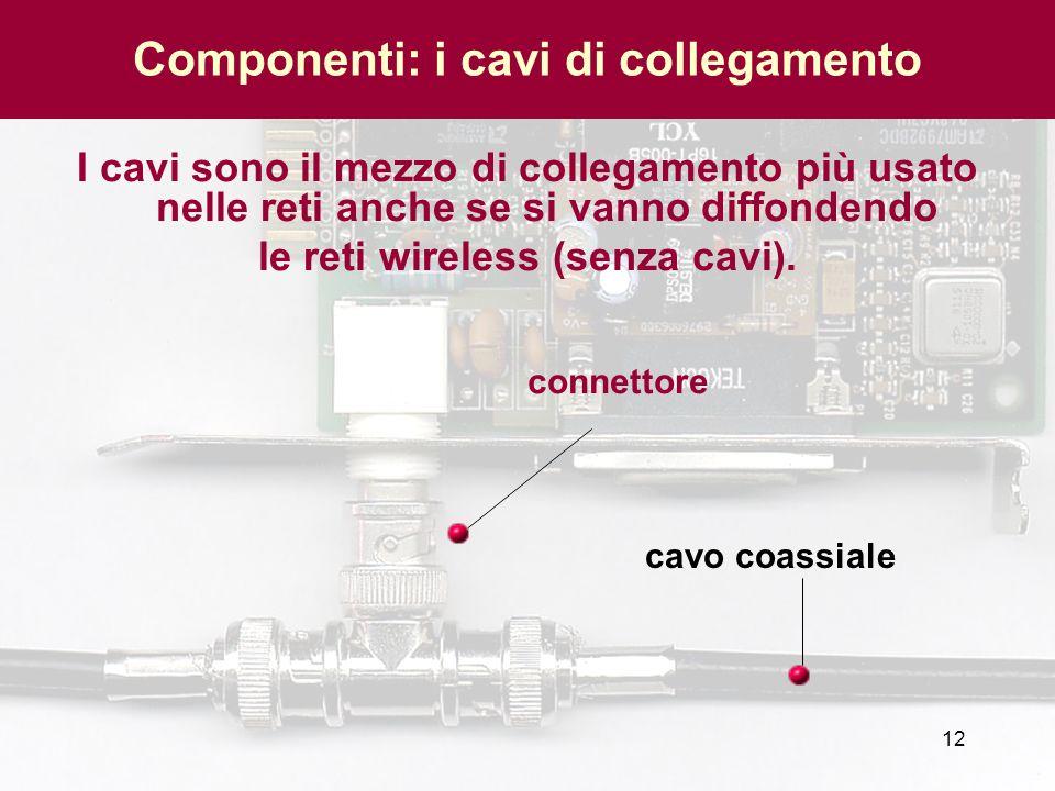 Componenti: i cavi di collegamento