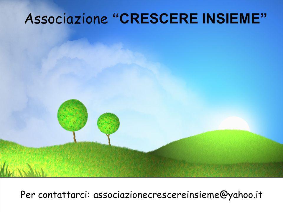 Associazione CRESCERE INSIEME