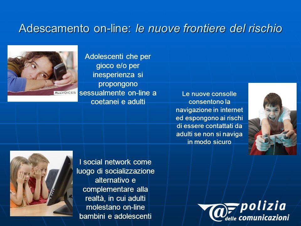 Adescamento on-line: le nuove frontiere del rischio