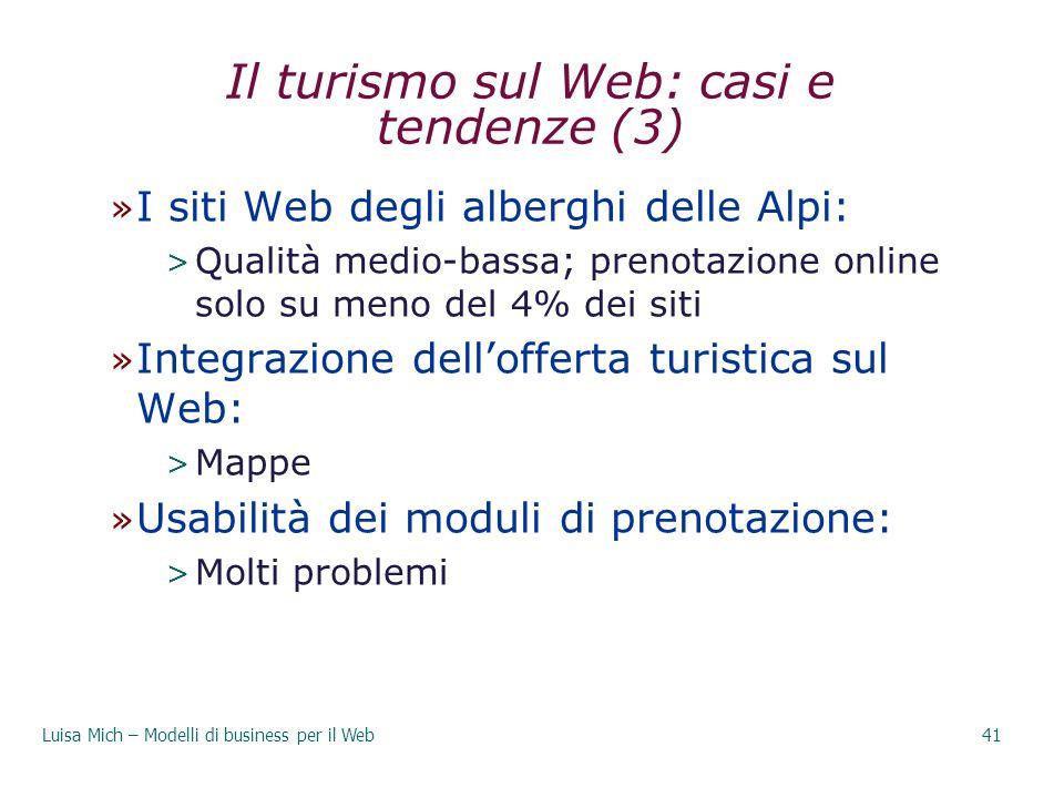 Il turismo sul Web: casi e tendenze (3)