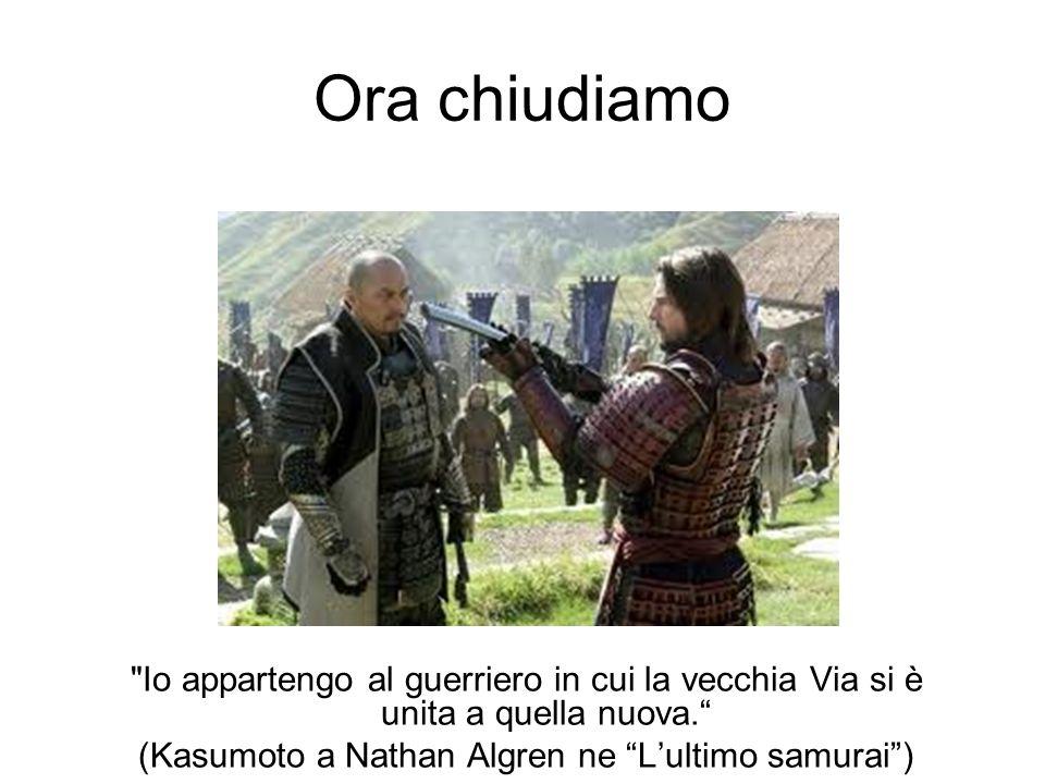 (Kasumoto a Nathan Algren ne L'ultimo samurai )