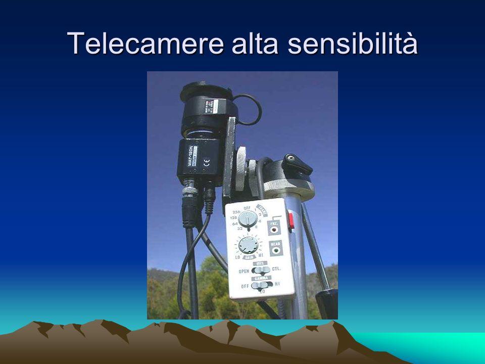 Telecamere alta sensibilità