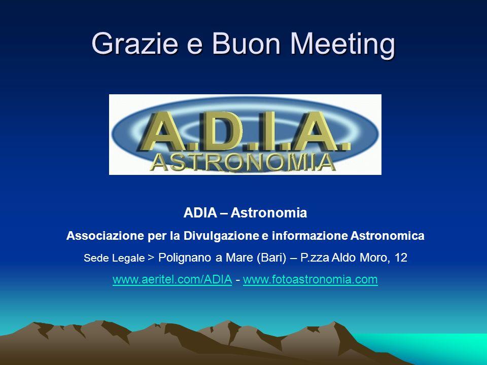 Associazione per la Divulgazione e informazione Astronomica