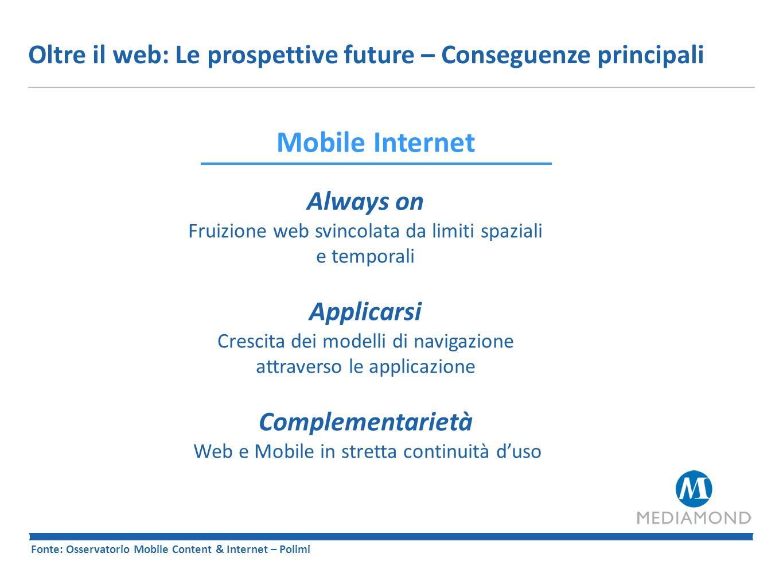 Oltre il web: Le prospettive future – Conseguenze principali
