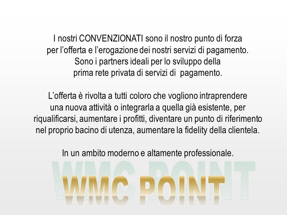 WMC POINT I nostri CONVENZIONATI sono il nostro punto di forza