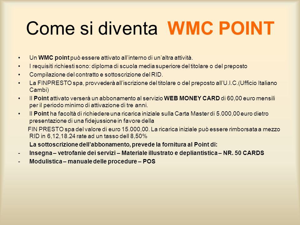 Come si diventa WMC POINT