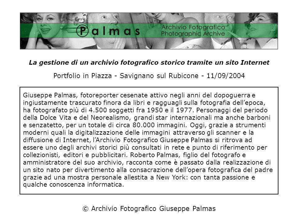 Portfolio in Piazza - Savignano sul Rubicone - 11/09/2004