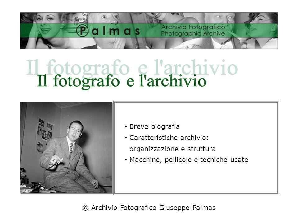 Il fotografo e l archivio