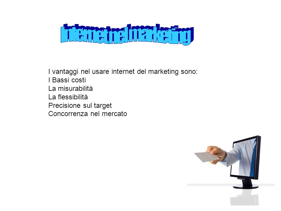 Internet nel marketing