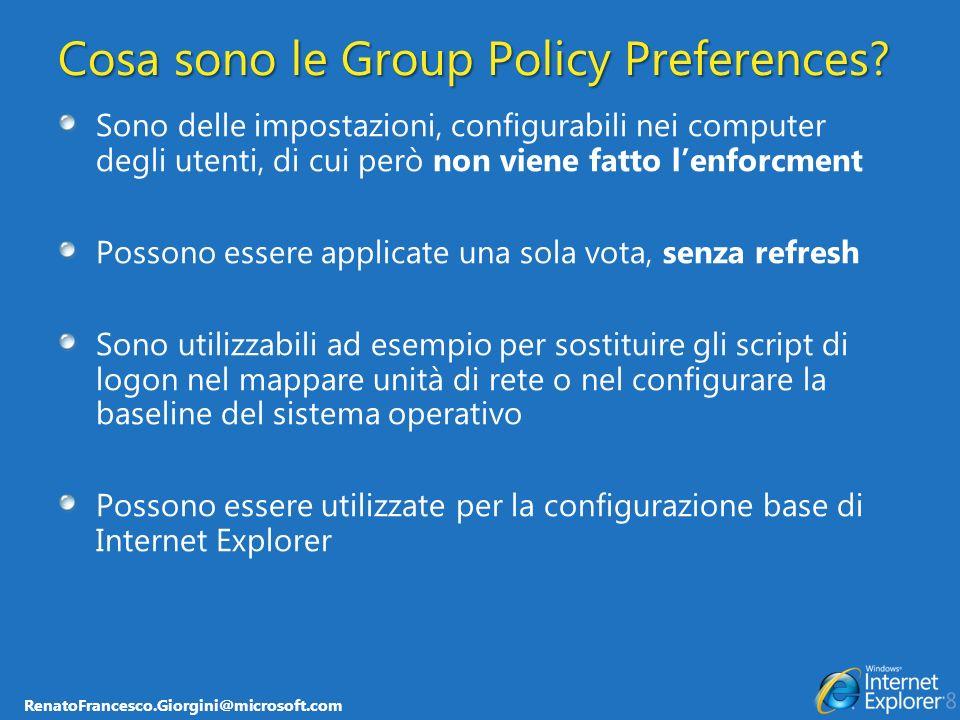 Cosa sono le Group Policy Preferences