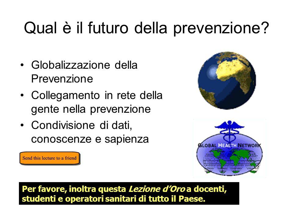 Qual è il futuro della prevenzione