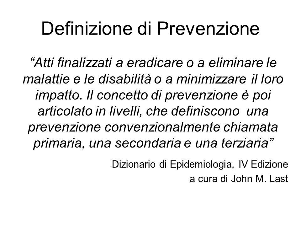 Definizione di Prevenzione