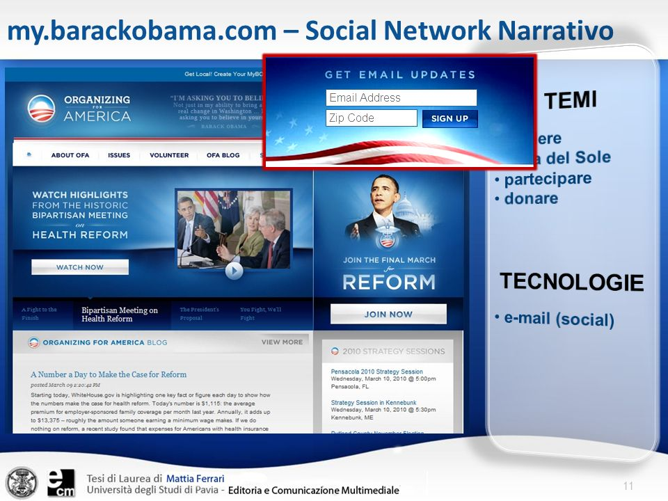 my.barackobama.com – Social Network Narrativo