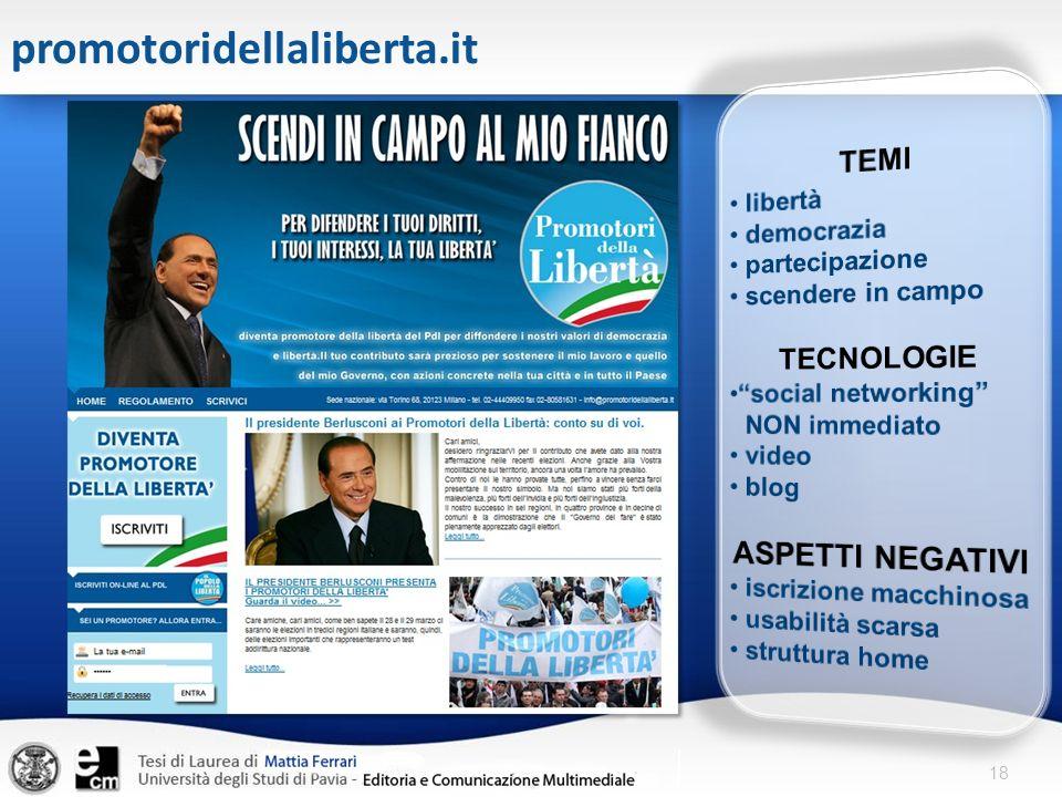 promotoridellaliberta.it ASPETTI NEGATIVI TEMI TECNOLOGIE libertà