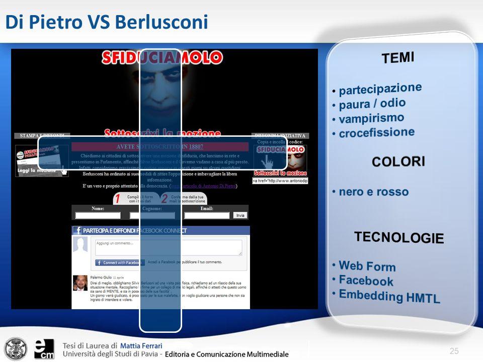Di Pietro VS Berlusconi