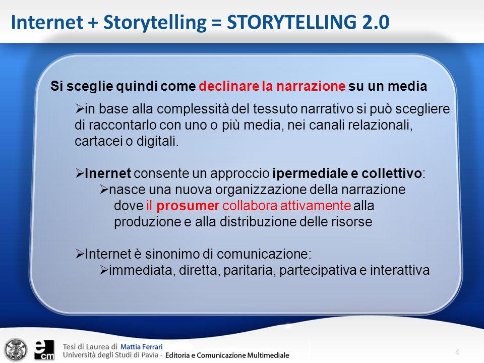 Internet + Storytelling = STORYTELLING 2.0
