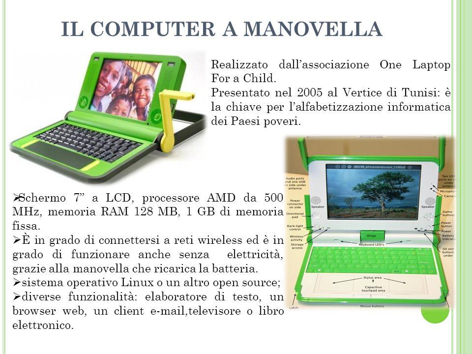 IL COMPUTER A MANOVELLA