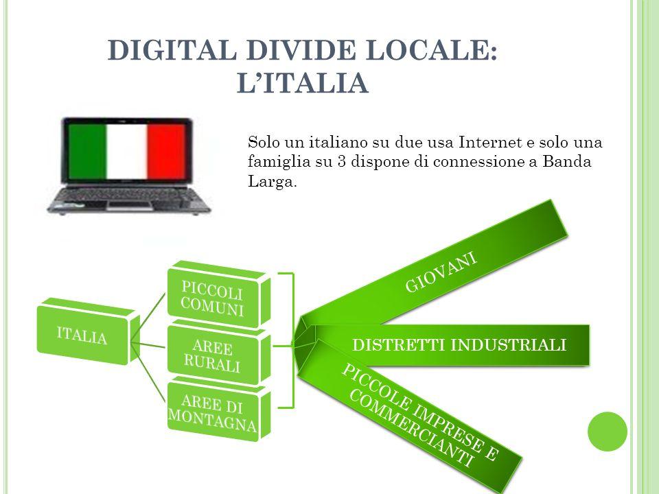 DIGITAL DIVIDE LOCALE: L'ITALIA