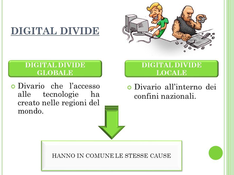 DIGITAL DIVIDE GLOBALE