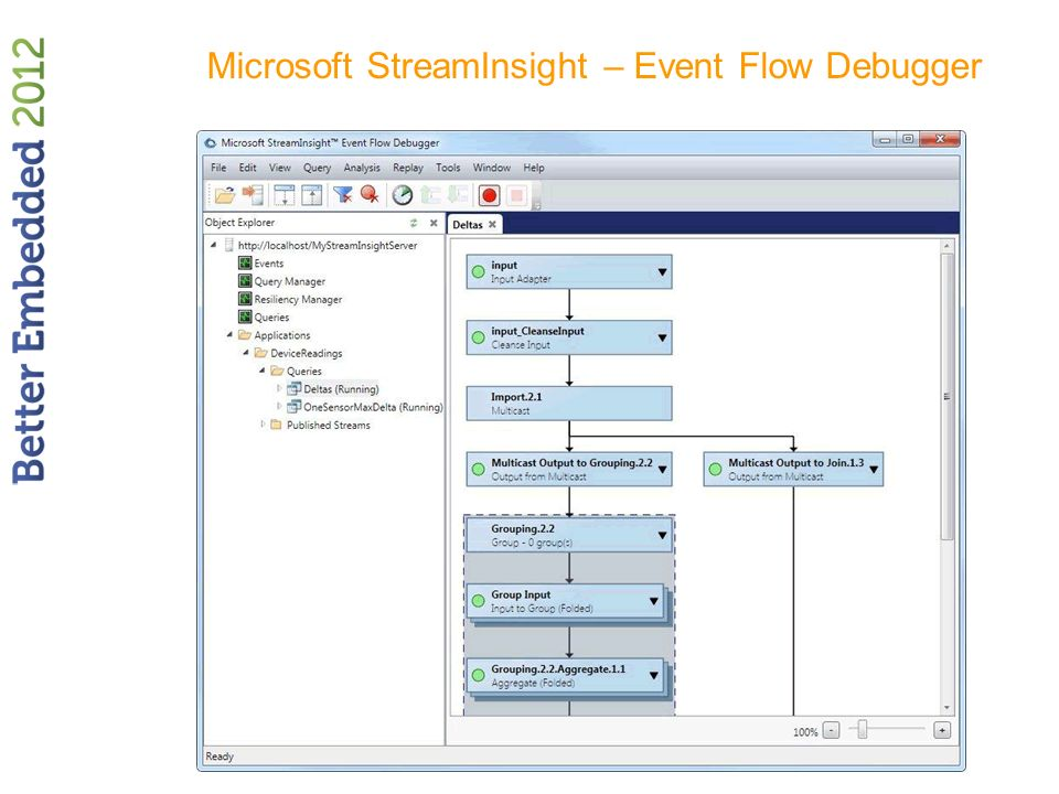 Microsoft StreamInsight – Event Flow Debugger