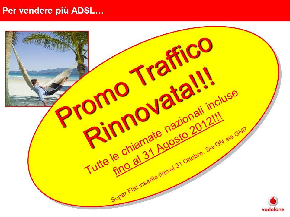 Promo Traffico Rinnovata!!! Tutte le chiamate nazionali incluse