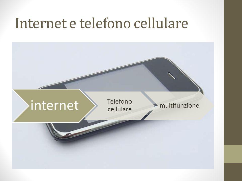 Internet e telefono cellulare