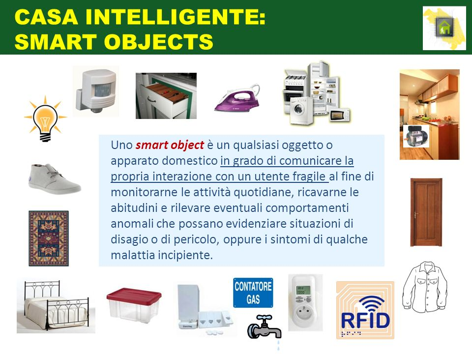 CASA INTELLIGENTE: SMART OBJECTS