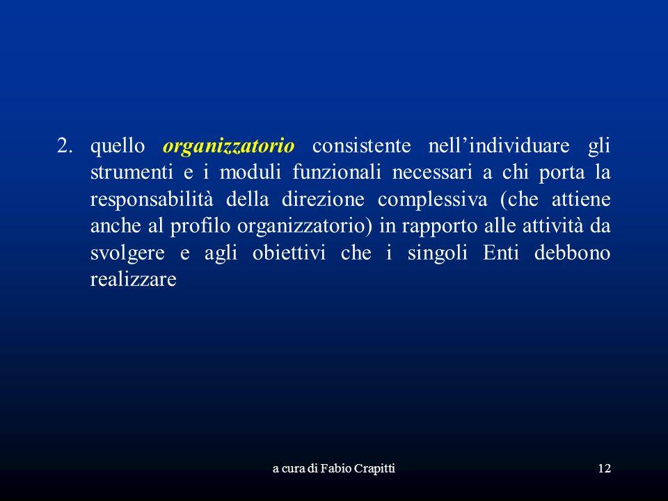 a cura di Fabio Crapitti