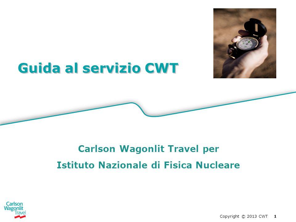 Carlson Wagonlit Travel per Istituto Nazionale di Fisica Nucleare