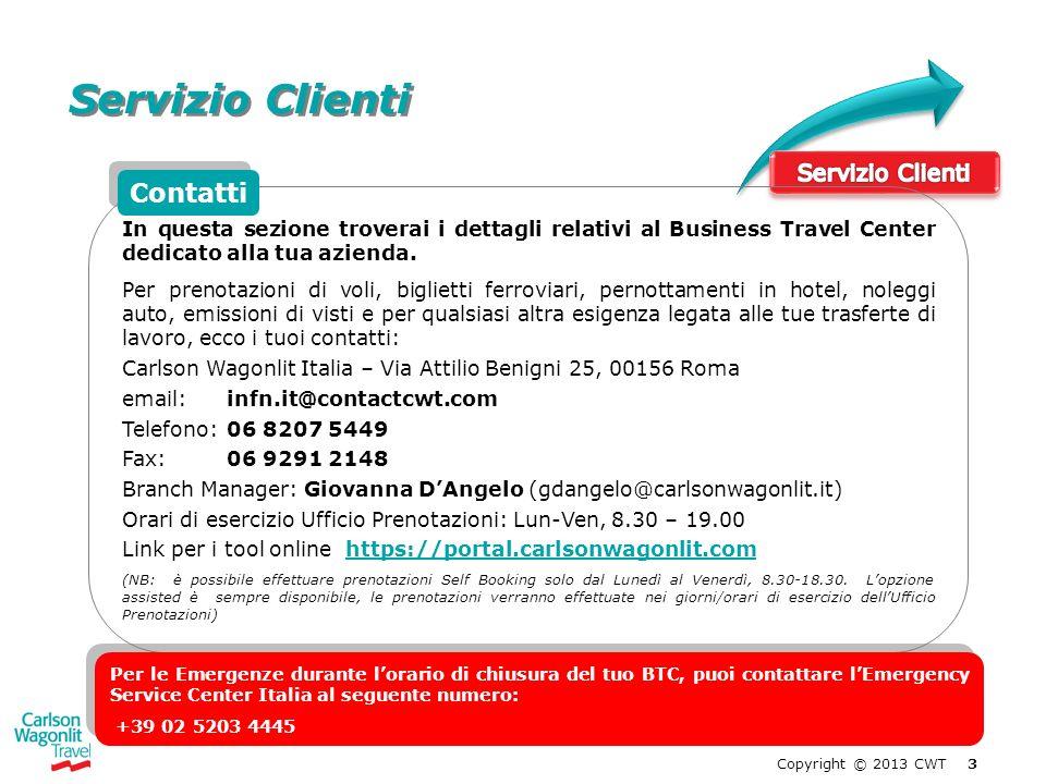Servizio Clienti Contatti Servizio Clienti