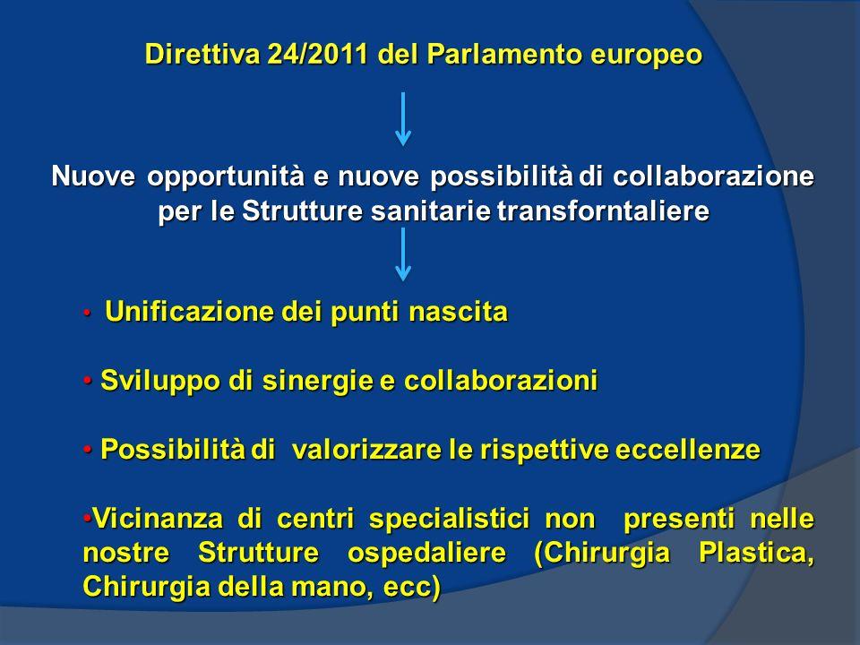 Direttiva 24/2011 del Parlamento europeo