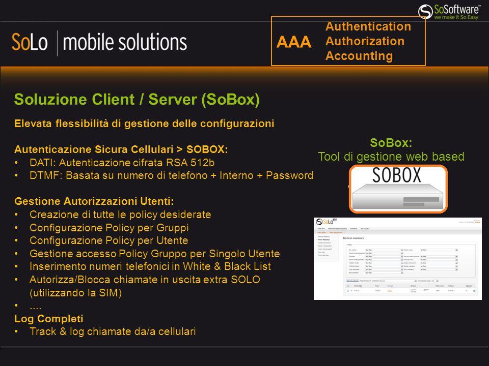 Tool di gestione web based