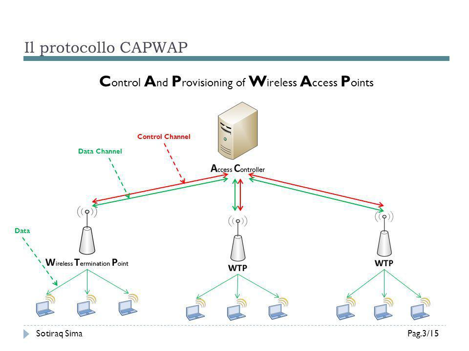 Control And Provisioning of Wireless Access Points
