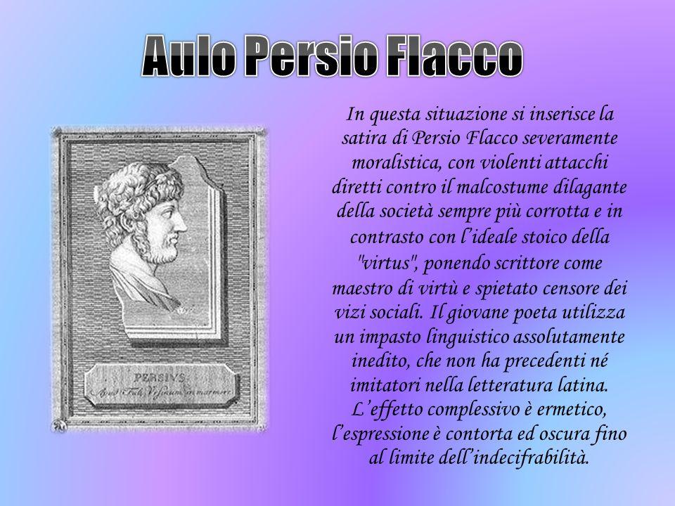 Aulo Persio Flacco